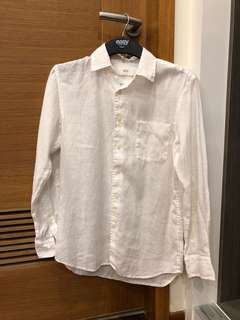 UNIQLO Linen white shirt