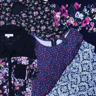 Floral Dresses Bundle