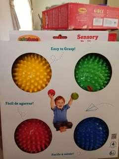 Edushape Sensory Balls Brand New