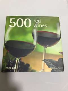 New book of red wines
