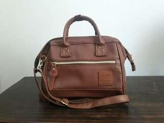 Anello Bag (Boston Leather Bag)
