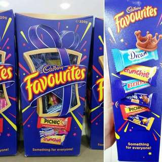 Cadbury Favourites Mini (Blue)