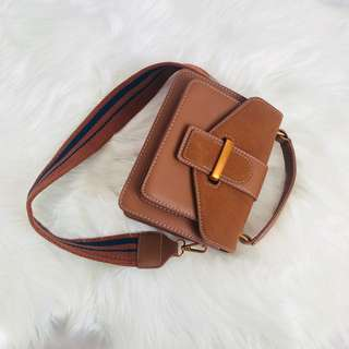 Double Strap Crossbody Bag