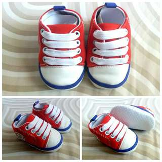 Canvas Sneakers Prewalker Shoes for Boys and Girls