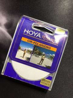 Hoya 58mm CPL Filter Circular Polarizer Glass Filter (PL-CIR)