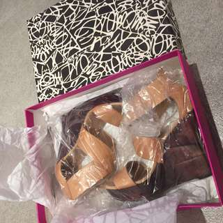 DVF Leather Wedges (37 size)