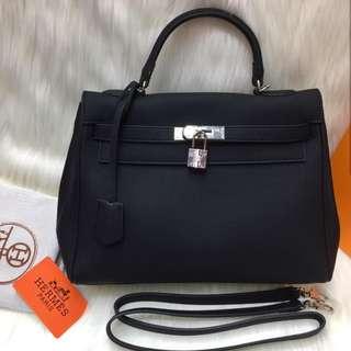 Tas Wanita Hermes Kely Semi Premium Handbag