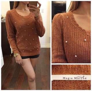 Margie Mache knitted sweater