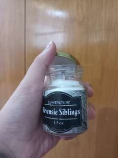 Pevensie Siblings Bookish Candle