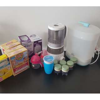 Steamer, Food Processor and Bottle Warmer - All Phillips Avent
