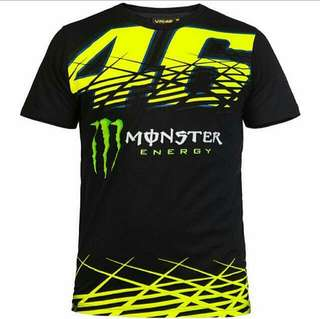 New T-Shirt MotoGP Yamaha Factory Racing MotoGP Motorcycle Motorbike Motor Bike Promotion VR46