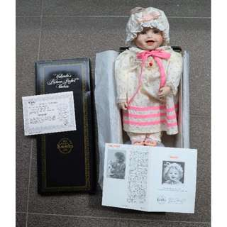 christmas gift SARAH Yolanda's Picture Perfect Babies Porcelain Doll