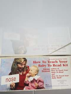 Glenn Doman - How to teach your baby to read kit
