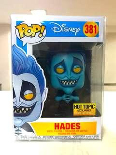 Funko Pop - Hades (Disney) Hot Topic GITD