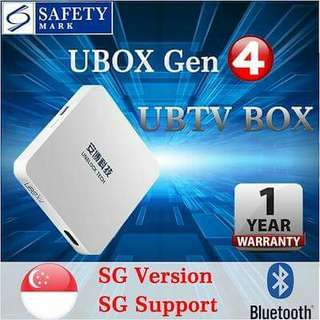 Ubox Gen4(one year warranty)