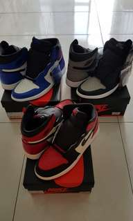 (Pack)Air Jordan 1 Shadow OG & Air Jordan 1 Royal OG 2018