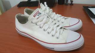 Converse All Star White UK11 with Crepe Protect