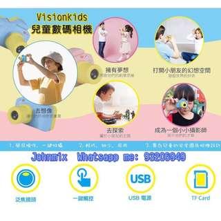 行貨保養 日本VisionKids 兒童攝影相機 Kids Digital Camera Children Camera
