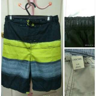 美國品牌大童沙灘褲