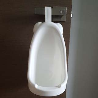 Boys Urinal with Hook