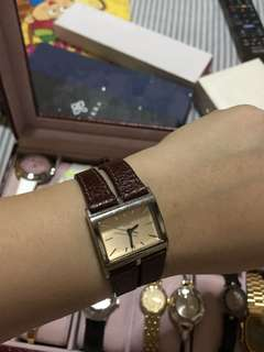 Guess Watch Leather Strap