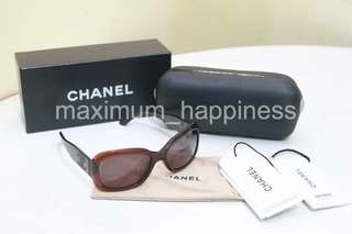 AUTHENTIC CHANEL 5102-A ACETATE LOGO SHADES / SUNGLASSES