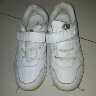 Free Pri White School Shoes
