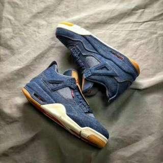 7f54f1cd7525 Nike Air Jordan 4 Retro x Levi