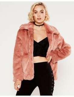 *RENT* Faux fur jacket