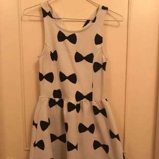 Pretty Bows Dress (size XS)