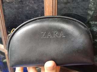 Zara Dompet Pouch Clutch Cosmetic Kosmetik Mini Travel