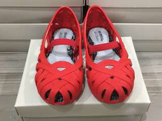 BNIB: US10 Mini Melissa Jean +Jason Wu #Red