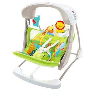 Fisher Price Rainforest Take-along swing & seat