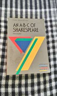 An A-B-C of Shakespeare