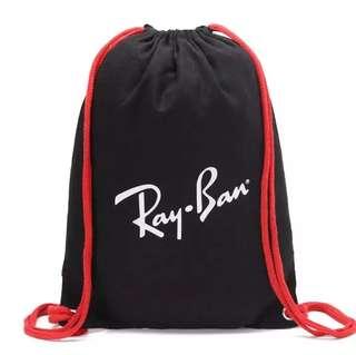 Ray Ban 旅行袋收納袋簡易雙肩背包運動瑜伽包背包鞋袋學生背包補習袋