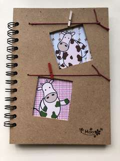 Moo Moo Notebook