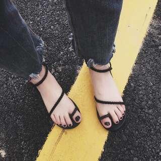 🚚 韓風夾腳涼鞋