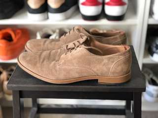 H&M Brown Suede Dress Shoe EU44 US11
