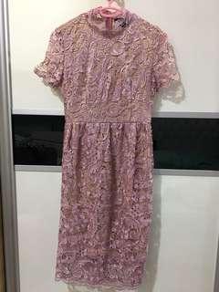 Doublewoot Lavender Lace Dress