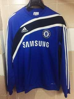 Adidas Chelsea  Football Soccer Training Jacket Sweat Shirt Size Medium