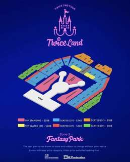 [WTT/WTS] TWICE Twiceland VIP Cat A Standing Ticket PEN A x 1