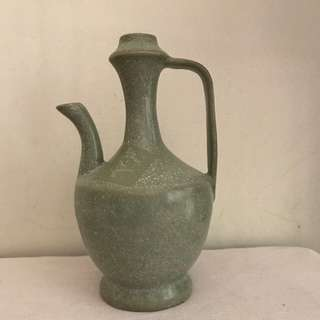 A green Glazed Porcelain Ewer