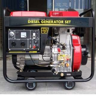 Silent Air Cooled Electric Start Diesel Generator DQ6GF-LE