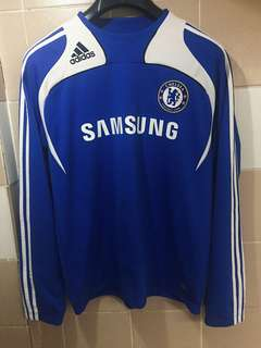 Adidas Chelsea FC Football Soccer Training Jacket Sweat shirt Size Large