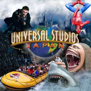 Universal Studios Japan Admission Ticket - Adult