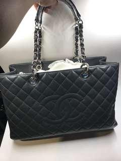 Chanel GST 大號灰色已絕版全新購自巴黎