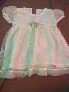 Baptismal baby dress 👗
