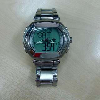 Adidas Digital Analog Stainless Steel Watch 2