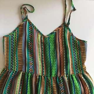 Patterned jumpsuit size 8-12