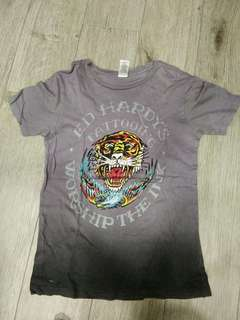 Authentic Ed Hardy Tee